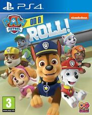 & Paw Patrol on a Roll Sony PlayStation 4 Ps4 Game
