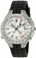 BRAND NEW TIMEX TX T3B881 H2Z481 FLYBACK BLACK CHRONOGRAPH WHITE DIAL MENS WATCH