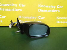 PEUGEOT 406 1996-2004 ELECTRIC DRIVERS SIDE WING MIRROR (SILVER) KMCD