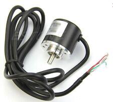 DC5V-24V 400P/R Encoder Incrementale Rotativo 400 Impulsi /R AB 2 Fasi D. 6mm