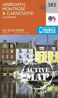 Arbroath, Montrose and Carnoustie by Ordnance Survey 9780319472484 | Brand New