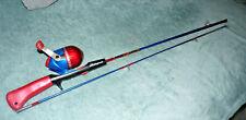 2006 Marvel Amazing SPIDERMAN Shakespeare 5' Fishing Rod & Reel 2 pc rod