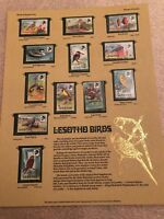Lesotho Birds WORLD STAMPS SERIES MNH STAMPS limited Edition