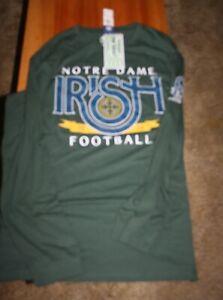 Notre Dame Men`s Long Sleeve The Shirt 2020 size 2XL