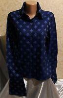 T.M.Lewin Women's Shirt Blouse Tunic Top 100% Cotton Size 14