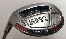 ADAMSGOLF Idea A12 OS Hybrid #5 Grafalloy Regular Flex 65R Left Handed LH