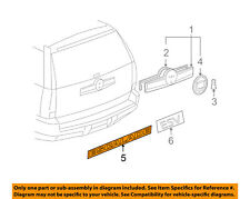 Cadillac GM OEM 02-14 Escalade Front Door-Emblem Badge Nameplate 15162148