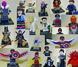 Minifigures Lego Compatibili Super Eroi Arrivo M