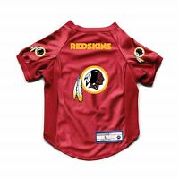 NEW WASHINGTON REDSKINS DOG CAT DELUXE STRETCH JERSEY