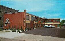 Sault Ste Marie Michigan~International Motel~1950s Cars With Fins~Hi-Fi