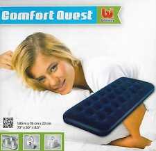 Colchón hinchable + Parche BESTWAY COMFORT QUEST Inflable Individual