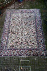 schöner alter Teppich Orientteppich handgeknüpft 307x405 cm t02