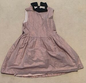 Childrens M&S Autograph pink party dress 5-6yrs used