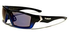 Mens X Loop Sunglasses XL57907 UV400 Davis F6 black mirrored sunnies golf blue