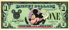 02 USA Disney 1 Disney Dollar 1987 Erstausgabe First Year