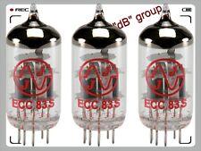 3x ECC83 JJ-Electronic valvole NUOVE matched selezionate tube valve 12AX7 TRIS