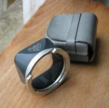 genuine baby Rollei Rolleiflex bay bayonet lens hood shade for grey 4x4 127 TLR