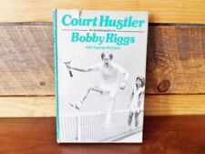Vintage Court Hustler Book Bobby Riggs Autographed 1973 Copyright Tennis Match