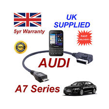 AUDI A7 Series 4F0051510M For BLACKBERRY Q5 MICRO USB Audio cable 30cm