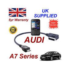 AUDI A7 séries 4F0051510M pour BLACKBERRY Q5 MICRO USB Câble Audio 30cm