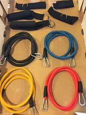 Strength Resistance Band 9pc Training System- A great workout w/o the high price