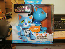 "ZOOMER MEOWZIES INTERACTIVE KITTEN ""PATCHES"" NEW"