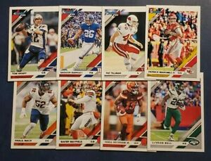 2019 Donruss Football Veteran Hall of Fame Base Cards 1-250 You Pick Mahomes