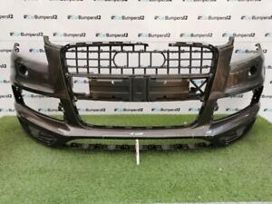AUDI Q7 S LINE FACELIFT FRONT BUMPER 2010 TO 2014 WITH WASH JET HOLES *B15