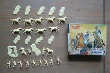 Vintage Airfix HO OO COMPLETE Waterloo French Cavalry Boxed S36-59