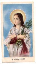 S. Maria Goretti    con preghiera  (s310)