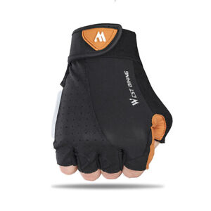 Sports Glove Cycling Half Finger Gloves Non-Slip Bicycle Gloves Breathable AA
