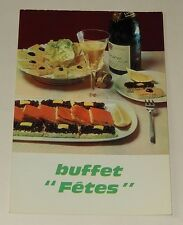 """Fiche Recette de CUISINE Pain JACQUET : Buffet """"Fêtes"""" - Vintage"""