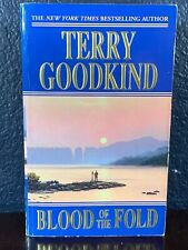 Terry Goodkind BLOOD OF THE FOLD pb Paperback SWORD OF TRUTH Book 3