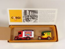Corgi Die Cast Transport of the 30's Bryant & May Thornycroft Bus & Ford Model T