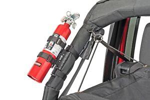 Fits 59-21 CJ Wrangler YJ TJ JK JL JT Elite Fire Extinguisher Holder 11238.40
