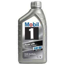 Mobil 1 Peak Life 5w50 - 1 Litro