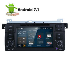 Android 7.1 Car GPS BMW E46 M3 Rover75 MG ZT CANBUS DAB+ Wifi OBD2 Radio BT TPMS