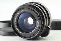 [Near MINT++ w/ Hood] MINOLTA M-ROKKOR 28mm f2.8 M mount Lens CL CLE from Japan