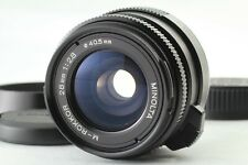 READ! [Near MINT++ w/ Hood] MINOLTA M-ROKKOR 28mm f2.8 M mount Lens CL CLE Japan