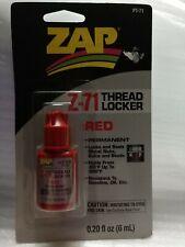 ZAP Red Z-71 Thread Locker .20 oz PT71