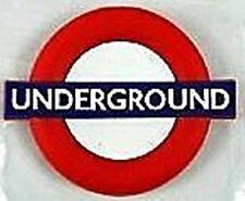 (London) Underground roundel rubber fridge magnet    (ba)