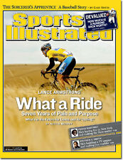 August 1, 2005 Lance Armstrong Cycling SPORTS ILLUSTRATED NO LABEL A Newsstand