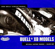 2008 BUELL XB MODELS MOTORCYCLE SERVICE MANUAL -ULYSSES-LIGHTNING-FIREBOLT-BUELL