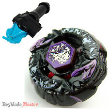 Fusion METAL Beyblade Master Bakushin Susanow Lunar Eclips+BLUE SPIN LAUNCH+GRIP