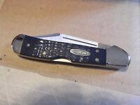 "CASE XX 3 5/8"" CLOSED COPPERLOCK POCKET KNIFE Synthetic HANDLE Tru-Sharp Blade"