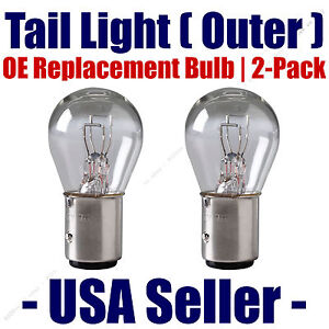 Tail Light Bulb (Outer) 2pk - OE Replacement Fits Listed Kia Vehicles - 1157