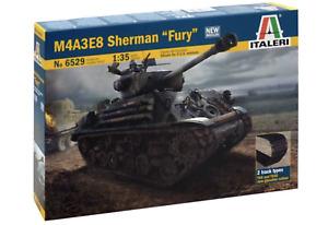 Italeri 6529 US Army M4A3E8 Sherman Tank 'Fury' 1/35 Scale Plastic Model Kit