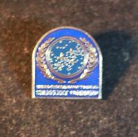 Star Trek Enamel Pin Badge Starfleet Command,United Federation of Planets