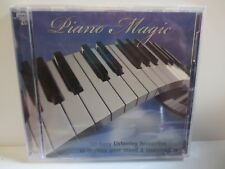 PIANO MAGIC ~ VARIOUS ARTISTS ~ 50 EASY LISTENING FAVOURITES ~ 2-DISCS ~ NEW CD