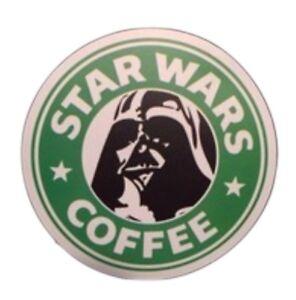 "Starbucks Coffee Star Wars Darth Vader Cool Sticker 2.75"" Inch Decal!"